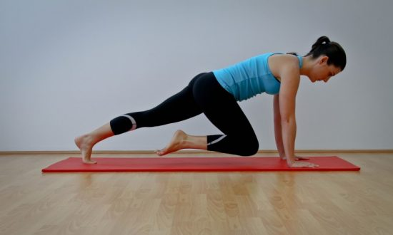 Move of the Week: Knee-Pull Plank