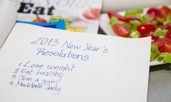 To follow through with your resolutions, get clear about what you want, why you want it, and what it will take to bring about change. (Benjamin Chasteen/The Epoch Times)