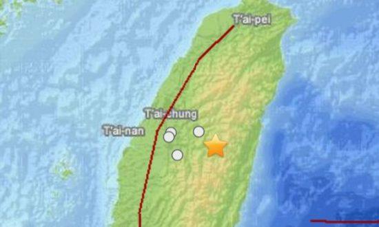 6.1 Taiwan Quake Sways Buildings