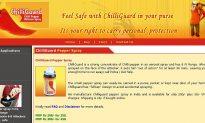 Pepper Spray Now Cheaper in New Delhi