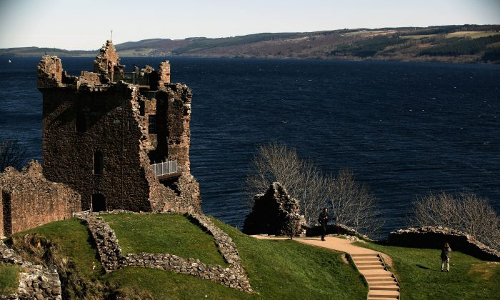 The Loch Ness is viewed in March 2012.  (Jeff J Mitchell/Getty Images)