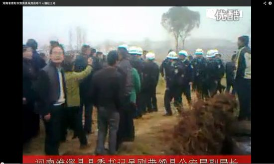 Farmers Injured for Protesting Land Seizure in China (With Video)