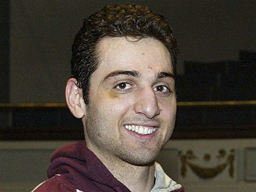 File photo from Feb. 17, 2010 of Tamerlan Tsarnaev, a suspect in the Boston Marathon bombings who died from gunshot wounds and blunt trauma. (AP Photo/The Lowell Sun, Julia Malakie)