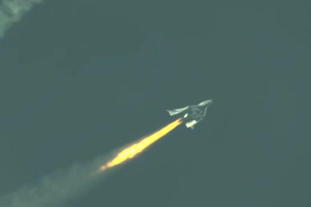 Virgin Galactic SpaceShipTwo Makes First Rocket-Powered Flight (+Video)