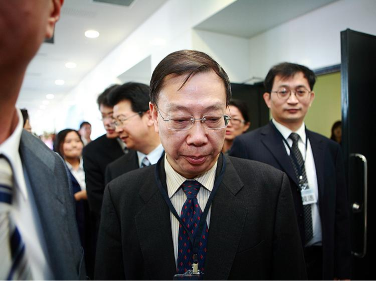 Chinese Vice Minister of Health Huang Jiefu after a conference in Taipei, Taiwan, in 2010. Huang has recently come under scrutiny for his involvement in and knowledge of illicit organ harvesting in China while vice-minister of health. (Bi-Long Song/The Epoch Times)