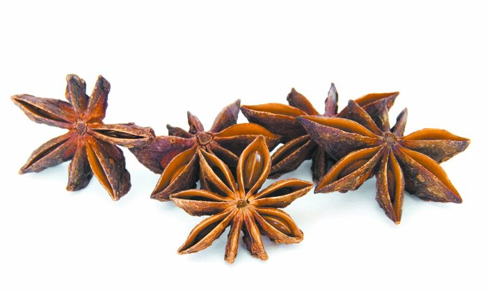 Star anice can be used to make five-spice powder, which is widely used in the preparation of many dishes, and brings much flavor and aroma. (photos.com)