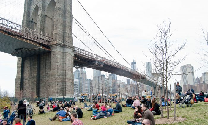 Smorgasburg takes place on the weekend through November in two locations—in Dumbo and Williamsburg, both on the waterfront. (Joshua Philipp/The Epoch Times)