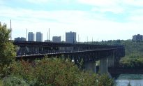 Centenarian Donates 100 Lights to Brighten Edmonton Bridge