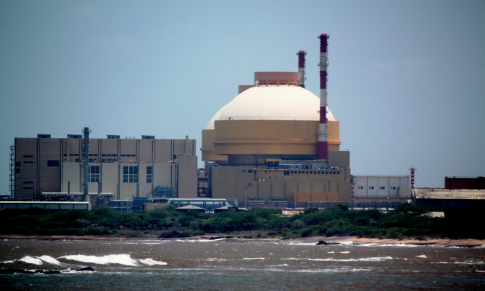 Kudankulam nuclear power plant, India's largest nuclear plant. The Indian Supreme Court dismissed petitions questioning the safety of the plant on May 6, 2013. (Venus Upadhayaya/The Epoch Times)