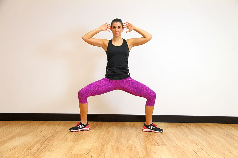 how to do sumo squats