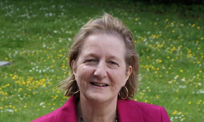 Leader of London Borough of Sutton Councillor Ruth Dombey. The borough has managed to refrain from raising taxes for 4 consecutive years.  (Image courtesy of London Borough of Sutton)