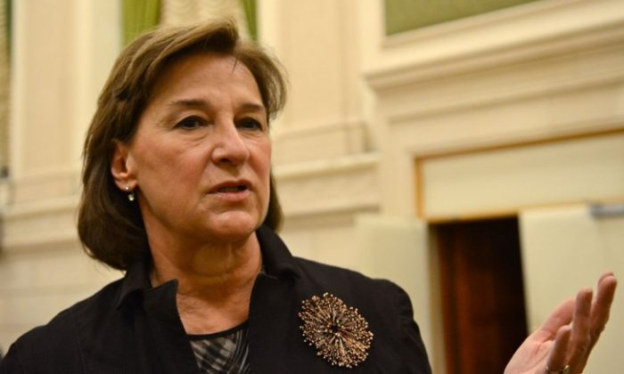 File photo of Jennifer Stoddart, Canada's privacy commissioner. Stoddart says Canada's privacy laws need to be updated for the digital age to protect consumer privacy. (Matthew Little/The Epoch Times)