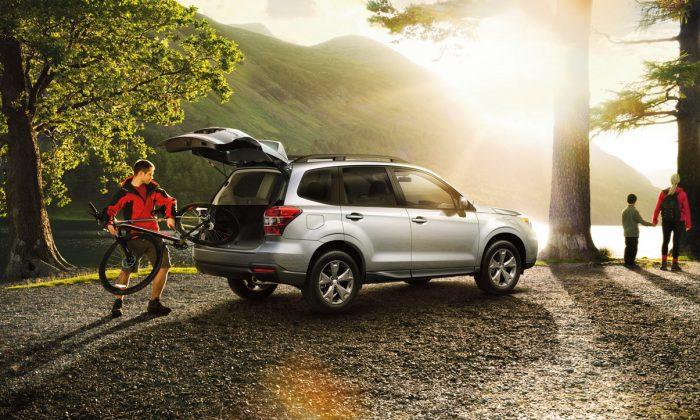 2014 Subaru Forester. (Subaru Canada)