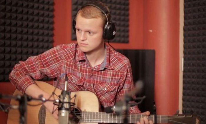 "Zach Sobiech performs the song, ""Clouds,"" posted December, 2012, reflecting on life and death as he suffered from cancer, which took his life on May 20, 2013. (Screenshot/YouTube)"