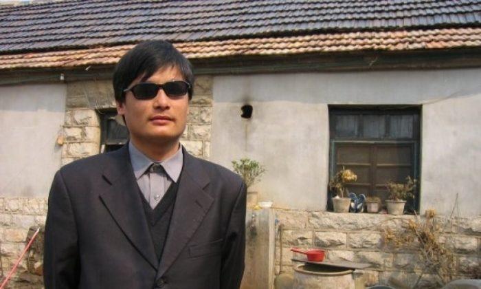 Chen Guangcheng. (Epoch Times)