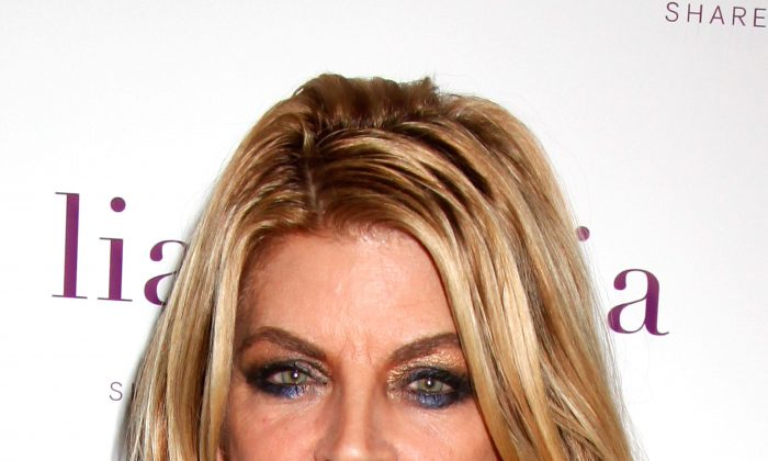 A file photo of actress Kirstie Alley attending a Red Carpet Collection event at Empire Hotel in New York City on September 12, 2011. (Anna Webber/Getty Images for lia sophia)