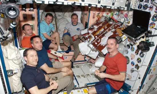 Astronauts Arrive Back to Earth