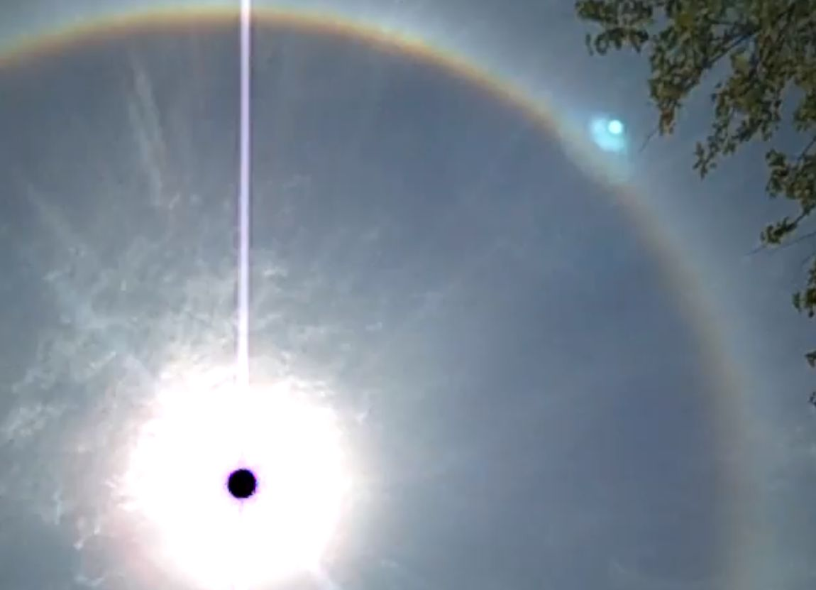Ring Around the Sun: What Causes It?