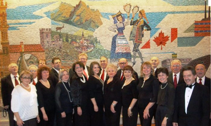 The Toronto Jewish Folk Choir, Canada's longest running Jewish choir, attracts people from different backgrounds united by a love of traditional music. (Courtesy Toronto Jewish Folk Choir)