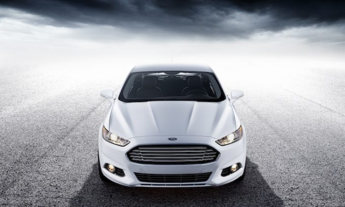 2013 Ford Fusion. (Ford)