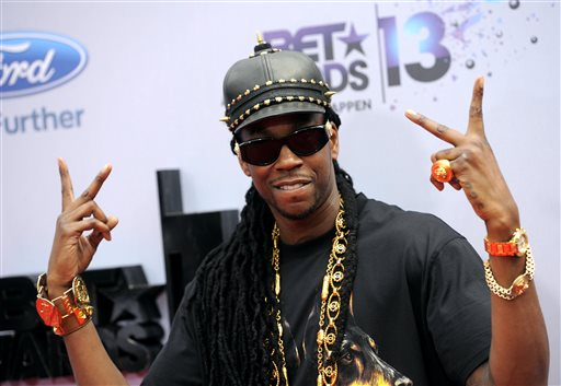 Chainz arrested after tour bus pulled over for drugs in oklahoma