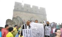 Elderly Chinese Appeal for Justice on Great Wall