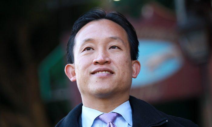David Chiu, president of the San Francisco Board of Supervisors (file photo). (Justin Sullivan/GETTY IMAGES)