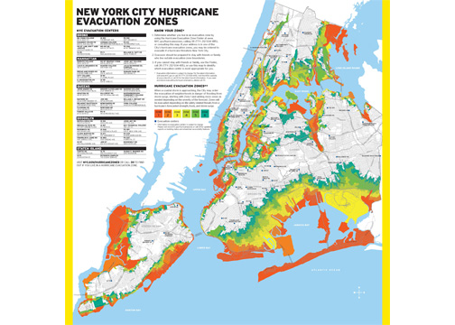 Long-awaited updated flood zone evacuation maps have been released by the City of New York on June 18. (Courtesy of the mayor's office)