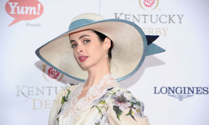 A file photo of actress Krysten Ritter attending the 139th Kentucky Derby at Churchill Downs in Louisville, Ky., on on May 4, 2013. (Michael Loccisano/Getty Images)