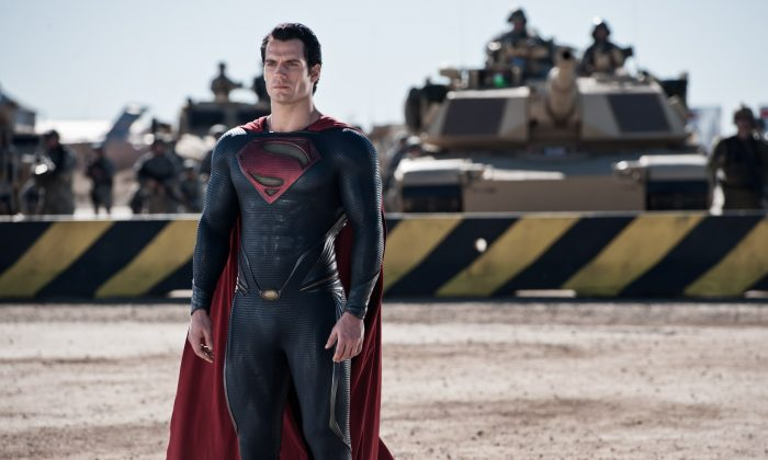 """Superman (Henry Cavill) in the action-adventure film """"Man of Steel."""" (Clay Enos/Warner Bros. Pictures)"""