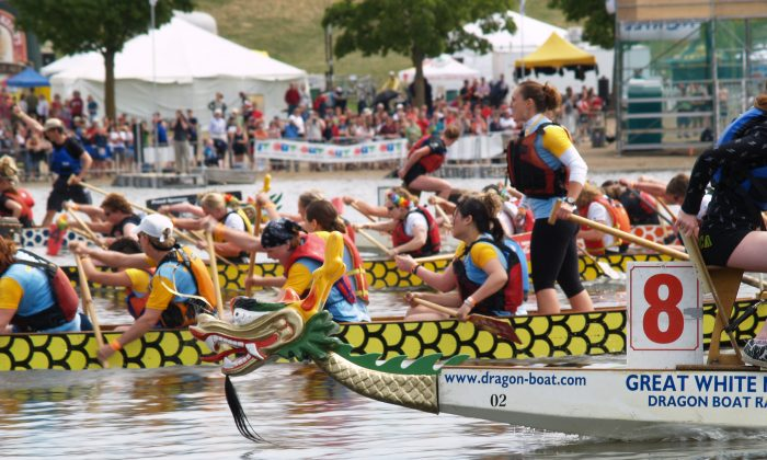 The annual Tim Horton's Ottawa Dragon Boat Festival, North America's largest dragon boat festival, will return to Mooney's Bay Park on Saturday and Sunday, June 20-23, celebrating its 20th anniversary. (Laurie Wierzbicki)