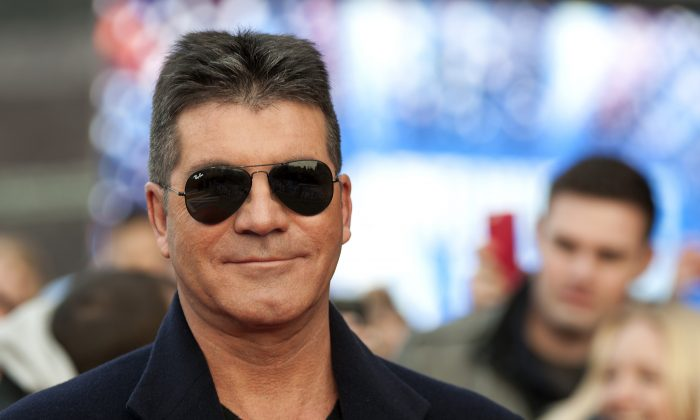 A file photo of Simon Cowell arriving for the 1st day of judges auditions for 'Britain's Got Talent' at Millenium Centre in Cardiff, Wales, on Jan. 16, 2013. (Ben Pruchnie/Getty Images)