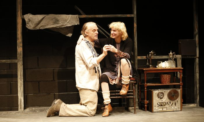 """Felice (Brad Dourif) and Clare (Amanda Plummer) play brother and sister in Tennessee Williams's """"Two Character Play."""" (Carol Rosegg)"""