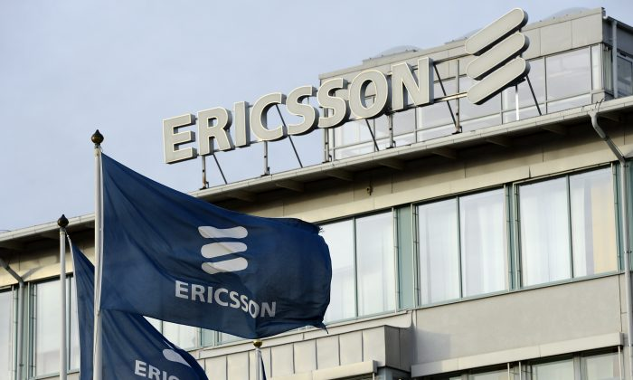 Ericsson headquarters in Stockholm, Sweden, is pictured on Nov. 7, 2012. The telecommunications giant will be building a new R&D facility near Montreal, expected to start operations in early 2015. (Jonathan Nackstrand/AFP/Getty Images)