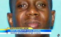 Navy Recruiter Missing in Jacksonville for 2 Weeks