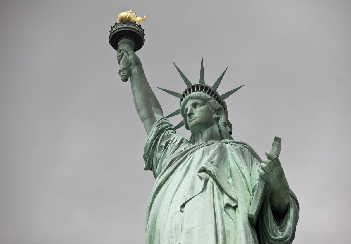 the statue of liberty enlightening the world Statue of liberty protester arrested after standoff - video the guardian - 05 jul 2018 a woman sits at the base of the statue of liberty on 4 july, forcing an evacuation of liberty island where the monument stands, hours before independence day fireworks displays were scheduled to begin.