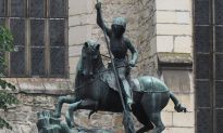St. George Slaying the Dragon in Prague