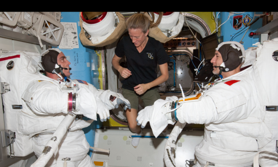 Spacewalk Live-Stream Video