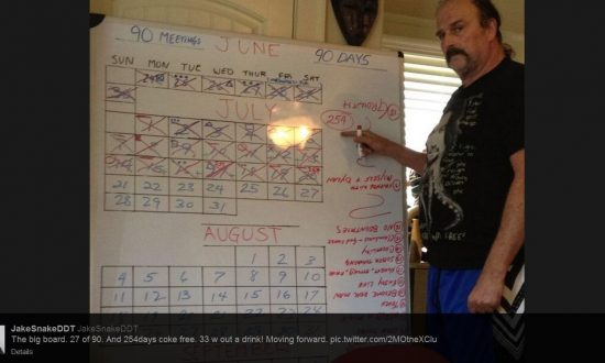 Jake 'The Snake' Roberts is 'Moving Forward' With Sobriety