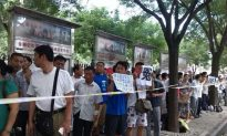 Laid Off Bank Employees Protest in Beijing