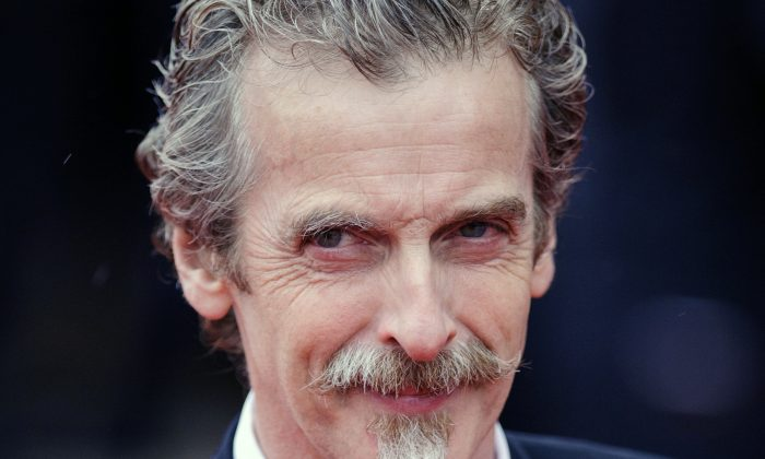 Glasgow-born actor and Oscar winner Peter Capaldi, as he appeared in London in this file photo dated May 12, 2013. (AP Photo / Dominic Lipinski, PA, FILE)