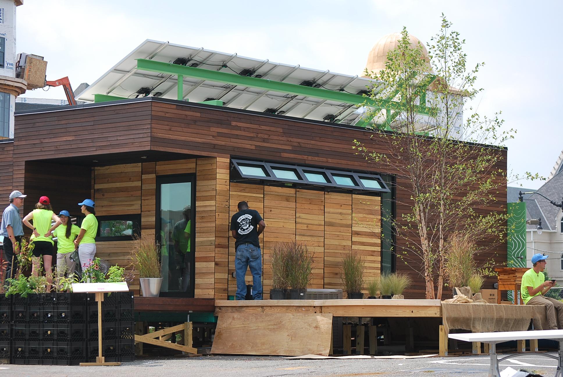 DC University Students Unveil 'Harvest Home'