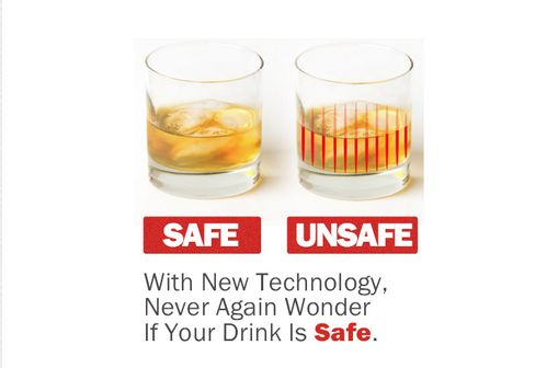 DrinkSavvy Cups Detect Date Rape Drugs: Creator a Victim