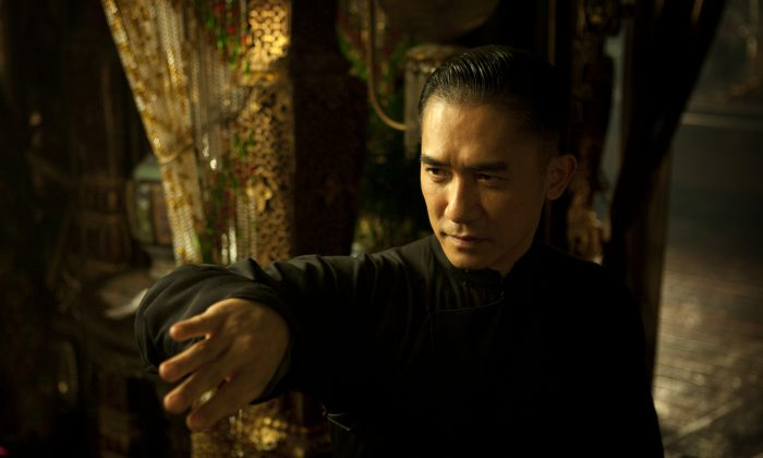 """Tony Leung plays legendary kung fu master, Ip Man, in """"The Grandmaster."""" (Courtesy of The Weinstein Company Inc)"""