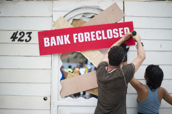 Record High Home Foreclosures in Maryland