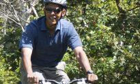 Obama Leg Bumps: Questions Arise Over President's Bike Photo