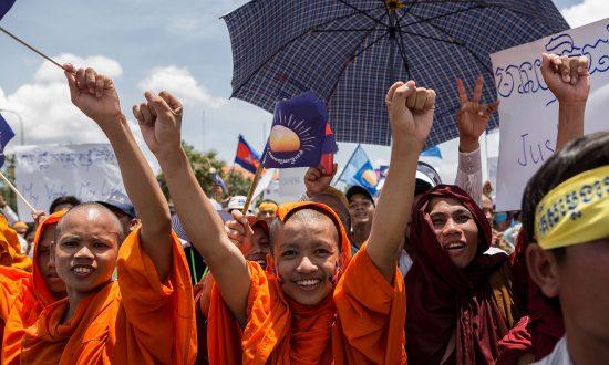 Dissent Emerges in Cambodia