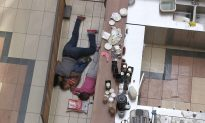 Pictures of Faith Wambua, 'Brave Mother' Hiding With Two Children in Westgate Mall, Inspire Kenyans