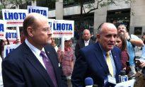 Giuliani Stumps for Lhota Days Before Primary