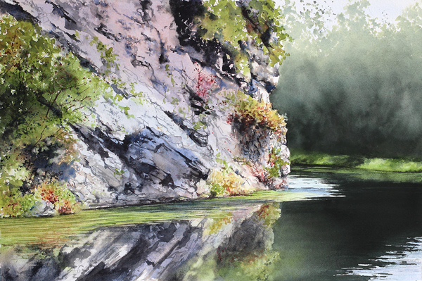 Floral Water-Media Paintings Come to Life